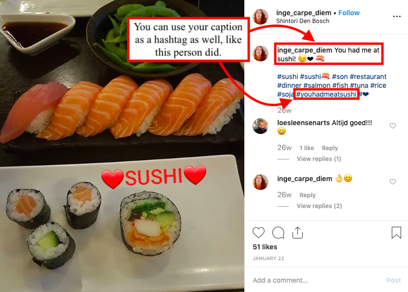 advertise your sushi restaurant
