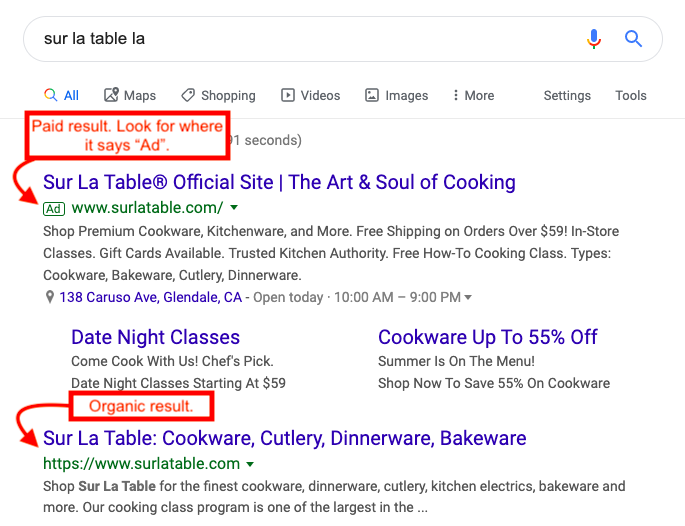 increase restaurant sales with Google rankings