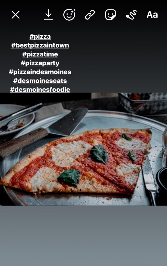 izza restaurant marketing